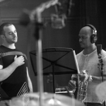 With Robin Eubanks at WGBH, recording 'Multitude'
